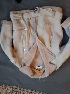 Acne more shearling jacket 38