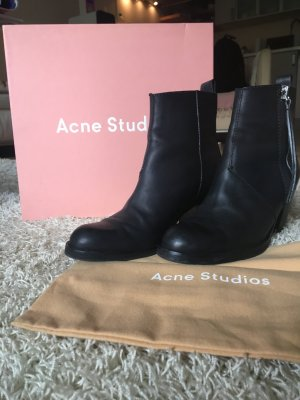 Acne Pistol Ancle Boots