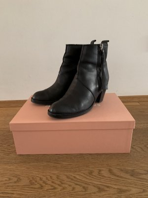 Acne Low boot noir
