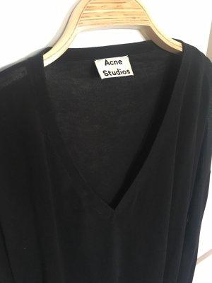 Acne Maglione lavorato a maglia nero