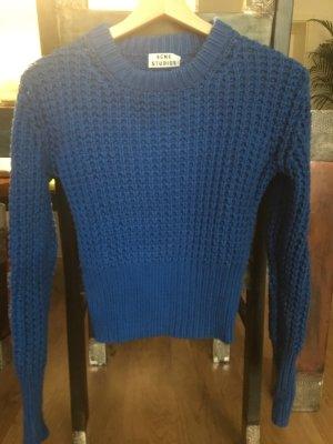 Acne Maglione lavorato a maglia blu