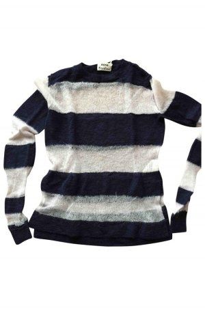 Acne Knitted Sweater white-blue