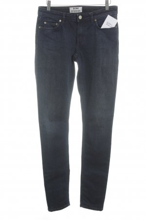 Acne Tube Jeans dark blue casual look