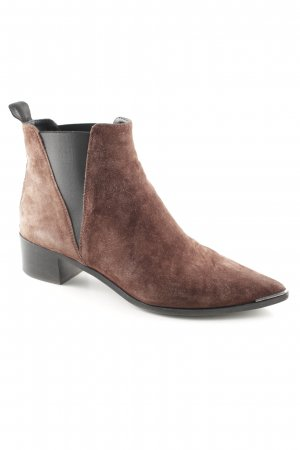 "Acne Slip-on Booties ""Jensen Hairy"""