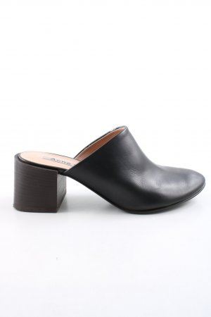 Acne Slip-on noir style d'affaires