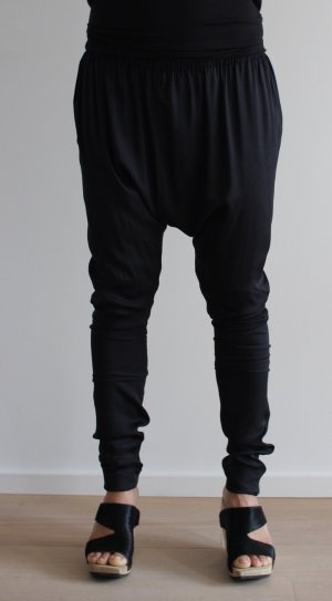 Acne Harem Pants black silk