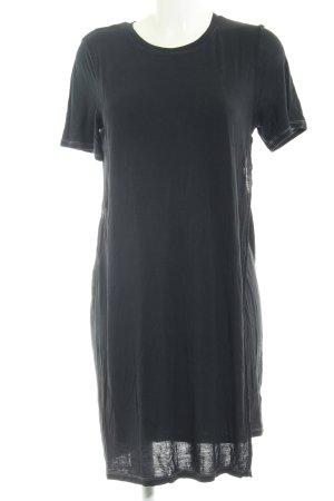 Acne Robe t-shirt bleu foncé style superposé