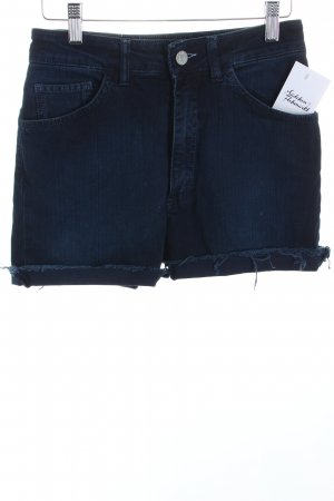 Acne Shorts dunkelblau Casual-Look