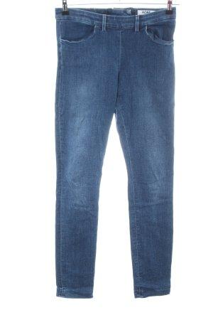 Acne Skinny Jeans blau Casual-Look