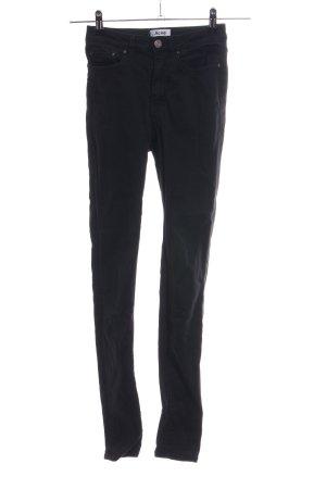 Acne Jeans skinny nero stile casual