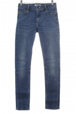 Acne Skinny Jeans blau Country-Look