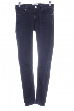 Acne Jeans skinny blu scuro stile casual