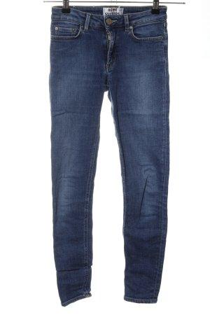 Acne Jeans skinny blu stile casual