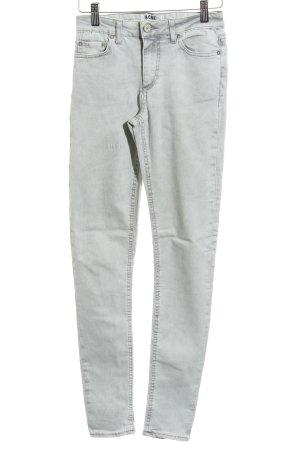 Acne Jeans skinny grigio chiaro stile casual