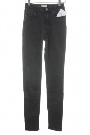 "Acne Skinny Jeans ""PIN USED BLACK"" schwarz"