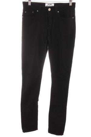 Acne Skinny jeans zwart casual uitstraling