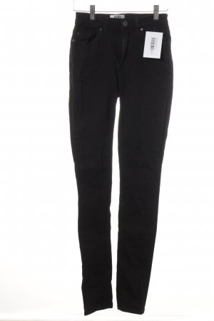 Acne Skinny Jeans black street-fashion look