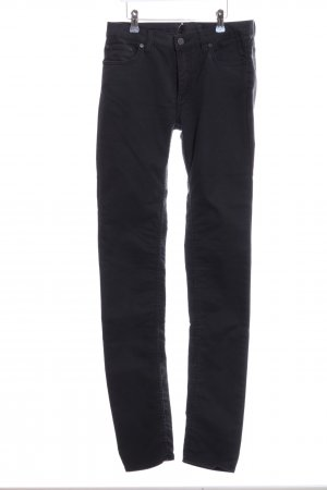 Acne Slim Jeans schwarz Casual-Look