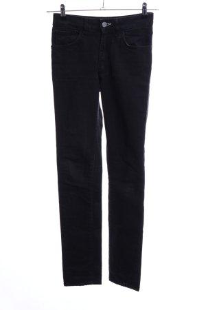 Acne Jeans slim fit nero stile casual