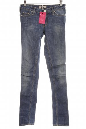 Acne Vaquero slim azul look casual