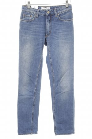Acne Jeans slim fit blu stile casual