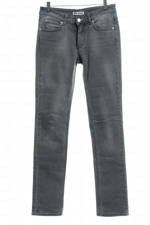 Acne Slim Jeans grau Casual-Look
