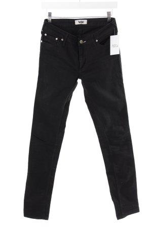 Acne Slim Jeans schwarz