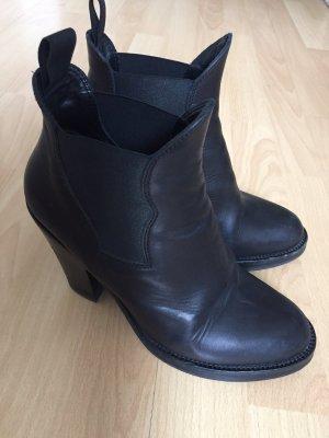 Acne Star Boots! schwarz top Zusatnd!