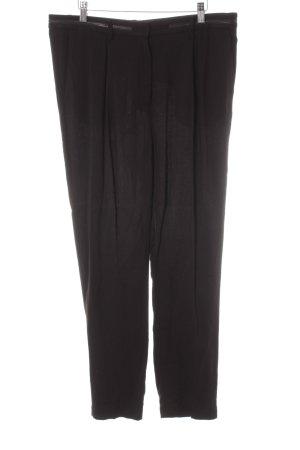 Acne Pantalone jersey nero stile casual