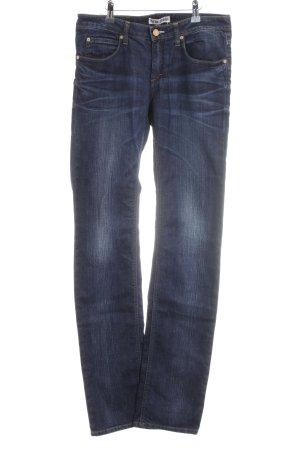 Acne Jeans a gamba dritta blu scuro stile casual