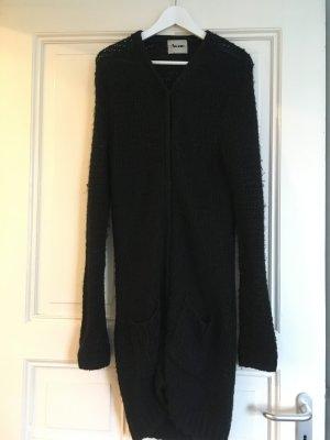 Acne Cappotto a maglia nero