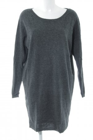 Acne Strickkleid dunkelgrau Casual-Look