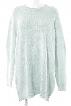 Acne Strickpullover babyblau Casual-Look