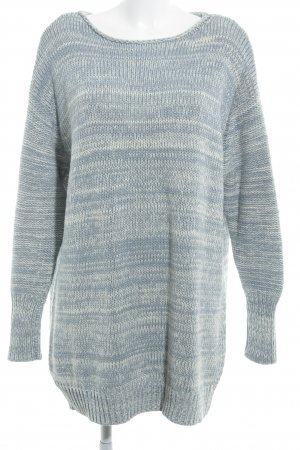 Acne Strickpullover himmelblau-wollweiß meliert Casual-Look