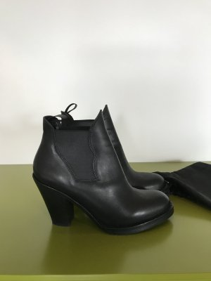Acne Shoes black leather