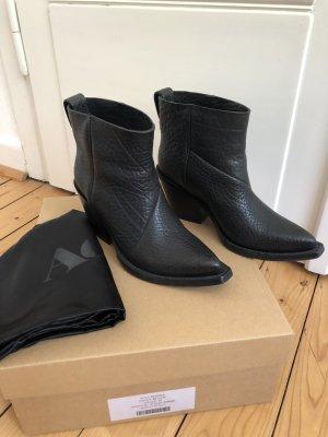 Acne Studio Donna Boots Stiefel Stiefeletten Biker Cowboy