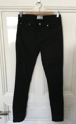 Acne Studios Skinny Jeans black cotton