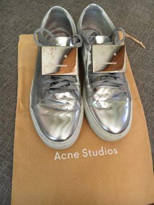 Acne Studios Adriana Metallic Sneakers