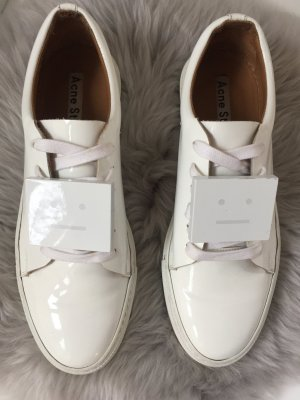 Acne Studios Adriana Patent Leather Sneakers white, 39