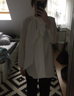 Acne Camicetta a maniche lunghe bianco Cotone