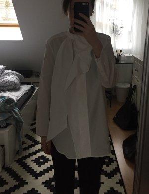Acne Long Sleeve Blouse white cotton