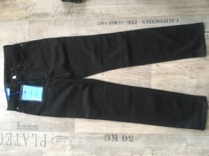 Acne Straight Leg Jeans black