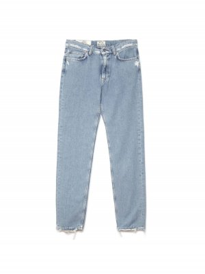 acne studios boy indigo fray jeans L26 W32