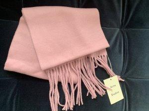 Acne Woolen Scarf mauve wool