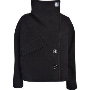 Acne Studios Chessa Boiled in Schwarz, Jacke, Coat Gr. 38