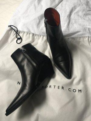 Acne Studios Cony Boots Stiefeletten mit Keilabsatz 37
