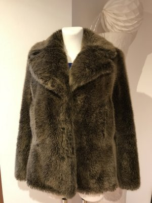 Acne Fake Fur Jacket multicolored fake fur