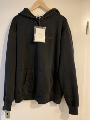Acne Hooded Sweater black-anthracite