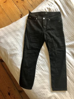 Acne Jeans a gamba dritta nero