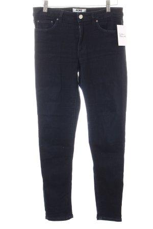 Acne Studios Jeans dunkelblau Casual-Look